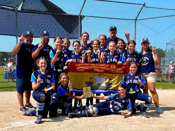 The Southern Black Bears U12 team hopes to duplicate the success of the U16 team, pictured here, and win the gold medal at the Eastern Canadian Softball Championships in Summerside, P.E.I. this week.