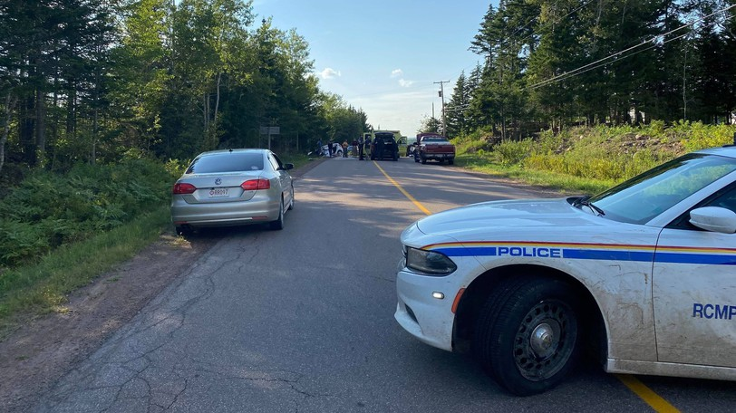 RCMP members, volunteer firefighters and Ambulance New Brunswick responded to a fatal collision just outside Dorchester on Route 106 toward Sackville on Wednesday.