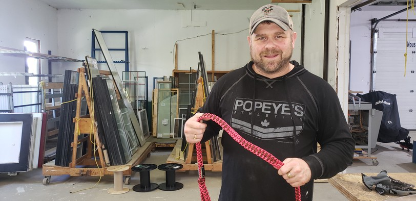 Dalhousie's Scott Harrigan's company Glorope is up and running in the Eel River Industrial Park, just a few miles from where he was raised.
