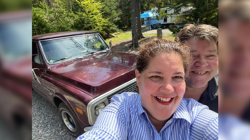 Claire Laker and Ted Underhill were stranded in Fundy National Park when their truck broke down right after arriving. Without any rental cars available, strangers from the Sussex area helped them get by until the truck was fixed.