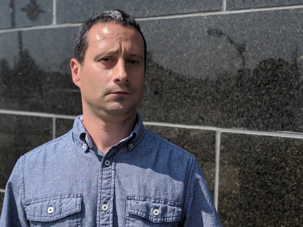 Jeff Weldon said he would like to see faster response times and more accessibility from the Sackville RCMP after police did not respond when he was allegedly assaulted outside a gas station on Main Street in Sackville on Aug. 18. He said he was on hold for 22 minutes before speaking to an RCMP dispatcher.