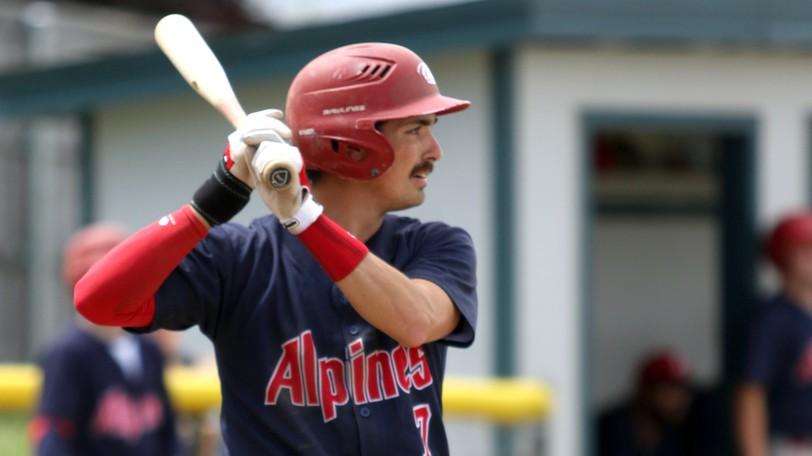 Adam Clark and the Saint John Alpines begin the New Brunswick Senior Baseball League semifinal  series Saturday against the Charlottetown Islanders. Game time is 2 p.m. at Memorial Field.