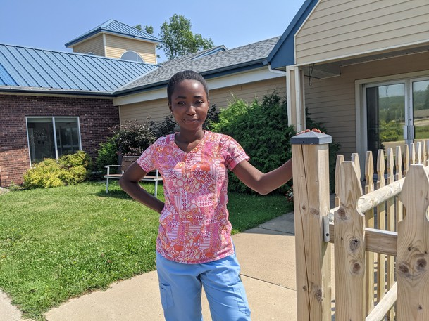 International student Ruth Mamie, who is supposed to study at New Brunswick Community College's Saint Andrews campus this fall, says she's been trying for months to find a rental in the town without luck.