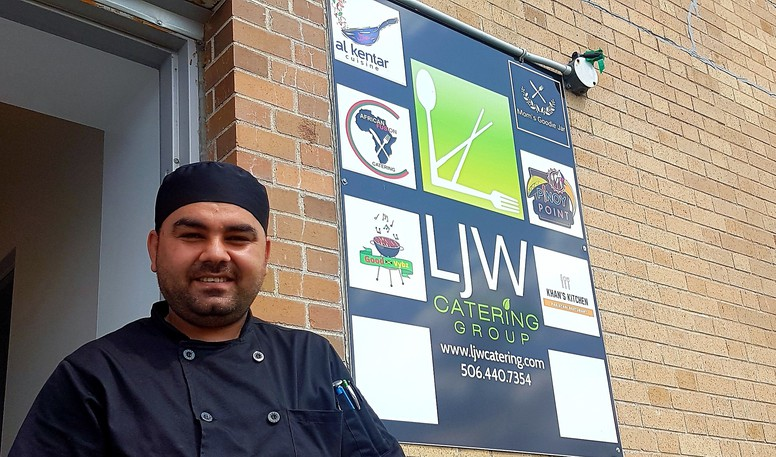 Kentar Al Yamani, who arrived in Canada in 2016 with his family as refugees from Syria, recently launched a new Fredericton food-catering business at 28 Saunders St., Unit 126, called Al Kentar Cuisine.