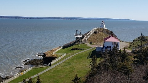 Cape Enrage re-opened this year after taking the 2020 season off because of the COVID-19 pandemic.