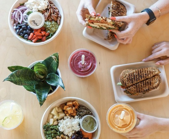 Visit orderharvest.ca to see what's on the menu at Harvest.