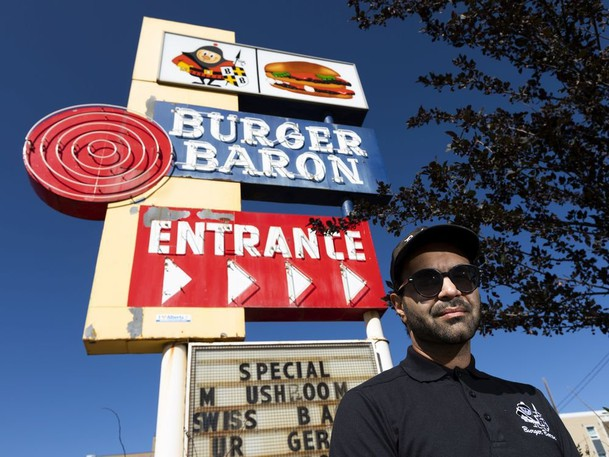 Omar Mouallem has made a documentary about the Burger Baron restaurant chain.