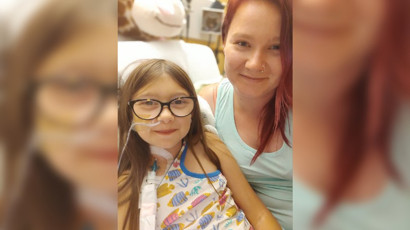 Abby Marr was flown to the IWK Health Centre in July when her kidneys unexpectedly failed. Since she's been in the hospital, the community's support has been amazing, said her mother, Jessica Marr.