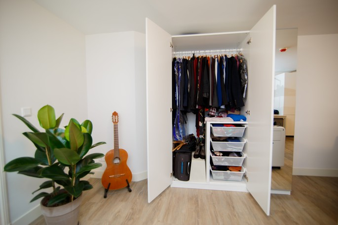 In his latest column, Harold Taylor suggests people should start by cleaning out and organizing their bedroom closet if they are having difficulty getting organized in other areas of their life.
