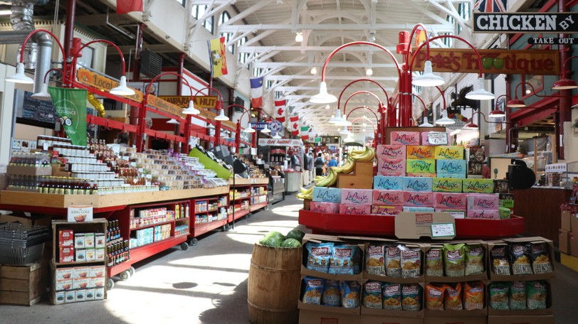 The Saint John City Market is pictured.