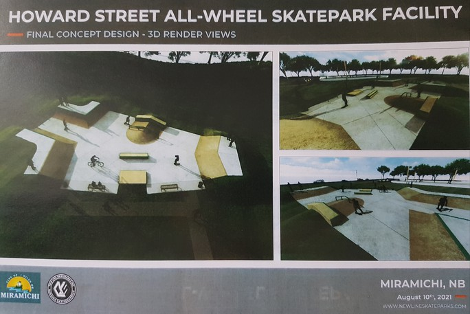 Miramichi city council has approved an extra $75,000 from the general capital reserve account for the new Howard Street All-wheel Skate Park project to cover increased sitework costs.