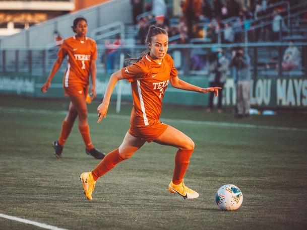 Burnaby's Julia Grosso, who scored the decisive penalty kick for Canada in the gold medal game at the Tokyo Olympics, is a senior at the University of Texas.