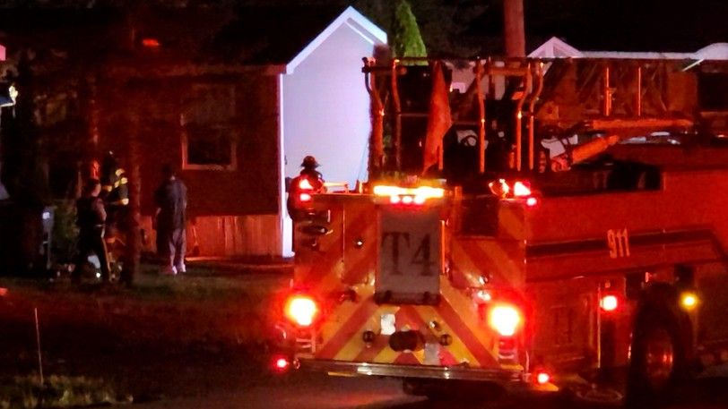 Moncton firefighters responded to a house fire early Sunday morning on Nancy Street.
