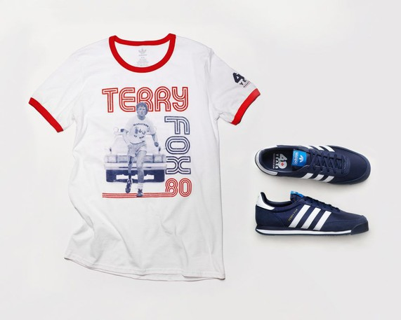 Just in time for this year's Terry Fox run, Adidas has restocked its previously sold-out commemorative collection from 2020.