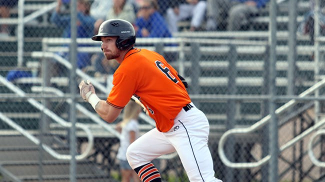 Moncton Fisher Cats outfielder Shawn Bartley has been selected a New Brunswick Senior Baseball League all-star.