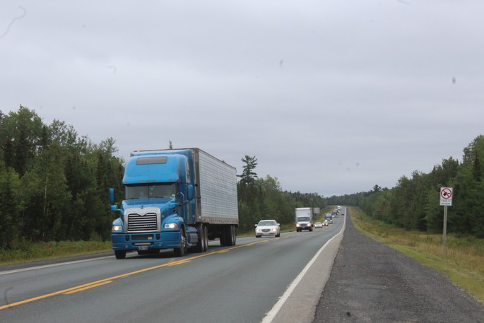 Chaleur Region RCMPresponded to a highway collision involving multiple vehicles Monday morning at a constructionzonealong Route 8.