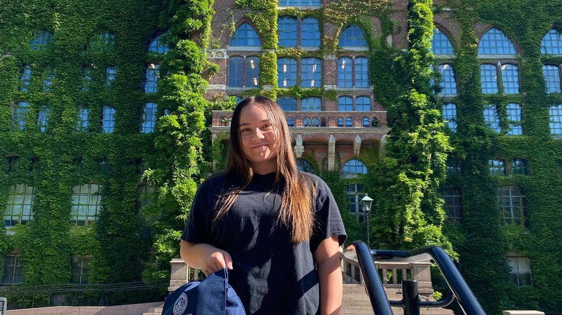 Kathia Duplessis of Bouctouche is attending Lund University in Sweden.