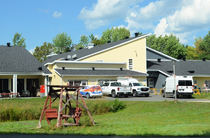 Some of the 47 residents displaced by a fire Sunday at the Tweedie Manor seniors' complex in Miramichi have returned home.