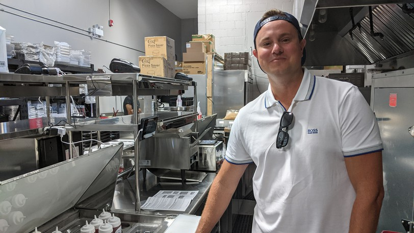 East Coast Kitchens Group co-owner Rob Taylor said he had problems finding staff at his other restaurants this summer.