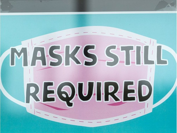 The mask mandate has been reimposed in New Brunswick.