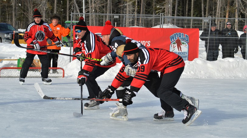 The first phase of team registration for the 2022 World Pond Hockey Championship in Plaster Rock opened on Sept. 1 but a decision on whether the event will go ahead won't be made until later in the fall. Organizers say safety will be the determining factor in whether to stage the Feb. 17-20 tournament.