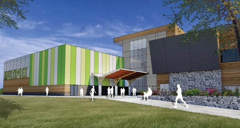 The City of Miramichi is considering a revised price tag and cost-sharing breakdown for its proposed multiplex.