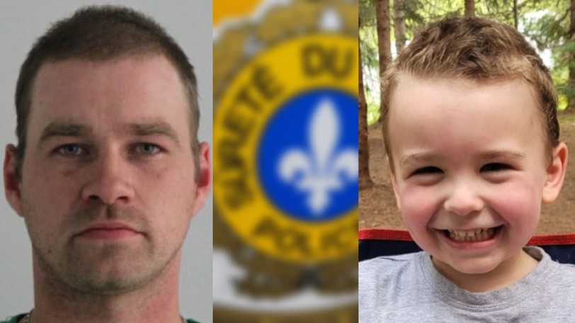 DavidCôté, 36, of Sainte-Paule is alleged to have abducted JakeCôté, 3, also of Sainte-Paule, where police say the child was abducted on Aug. 31. Sainte-Paule is about 140 kilometres north of Campbellton.