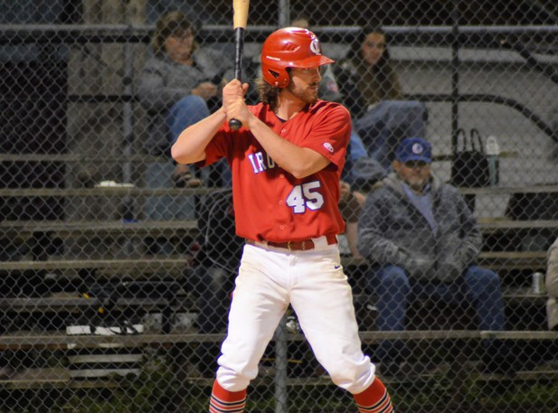 Junior-league affiliate Logan Walsh drove in two runs for the Chatham Miramichi Honda Ironmen in their 7-3 win over the Moncton Fisher Cats in Game 4 of the best-of-seven New Brunswick Senior Baseball League semifinals Wednesday at Ironmen Field.