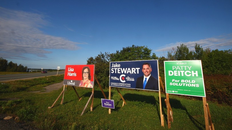 Miramichi-Grand Lake remained a close race several hours after polls closed. It reflected a tightening battleground around Atlantic Canada.