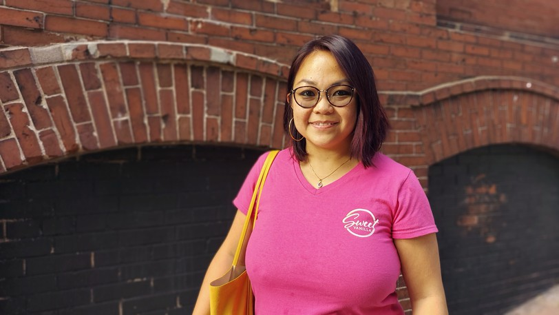 Romy Lai, originally from Madagascar, came to Saint John in 2015. She fell in love with the character of the city and its brick buildings uptown and intends to stay here.