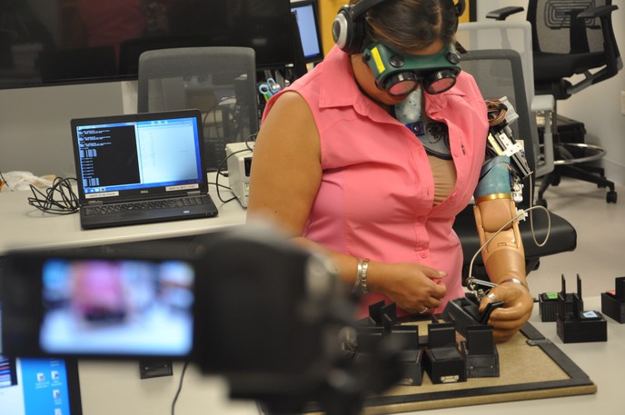 Research into the world of prosthetic limbs is front and centre in a new article authored by a trio of experts including Dr. Jon Sensinger, the director of the University of New Brunswick's  Institute of Biomedical Engineering.