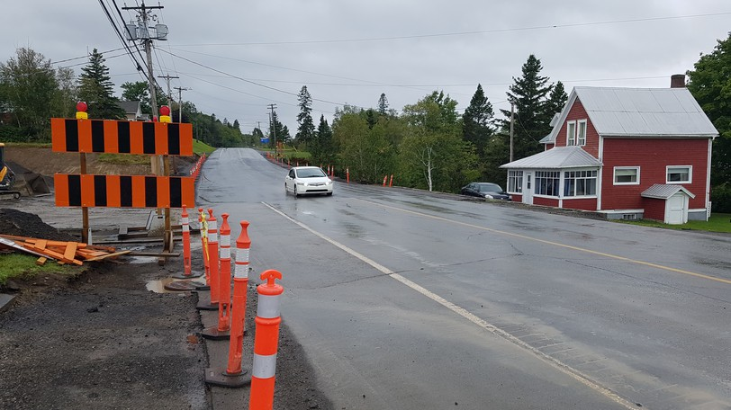 Route 134 is again open at McLeods. It had been closed for several weeks to replace a culvert, causing a long detour.