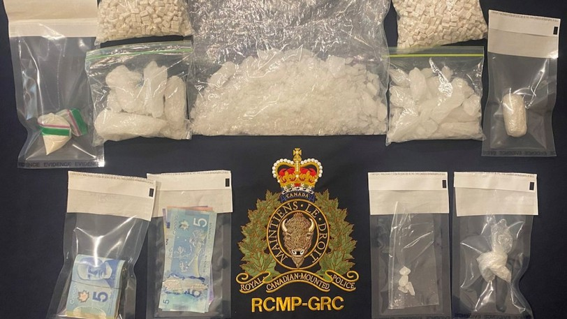 The New Brunswick RCMP have seized a significant quantity of drugs and cash from a Moncton home.