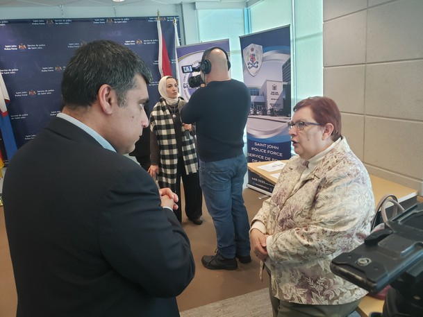The Saint John Newcomers Centre's Mohamed Bagha speaks with Linda Patterson. Bagha argues, along with Saint John Region Chamber of Commerce DEO David Duplisea, that the federal election must look at ways to improve newcomer workforce participation.