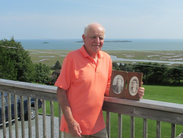 Longtime labour advocate George Vair is pictured here at his home overlooking the Manawagonish Marsh. It is one of several places where labourers toiled to build the city we enjoy that can be visited this Labour Day, writes columnist David Goss.