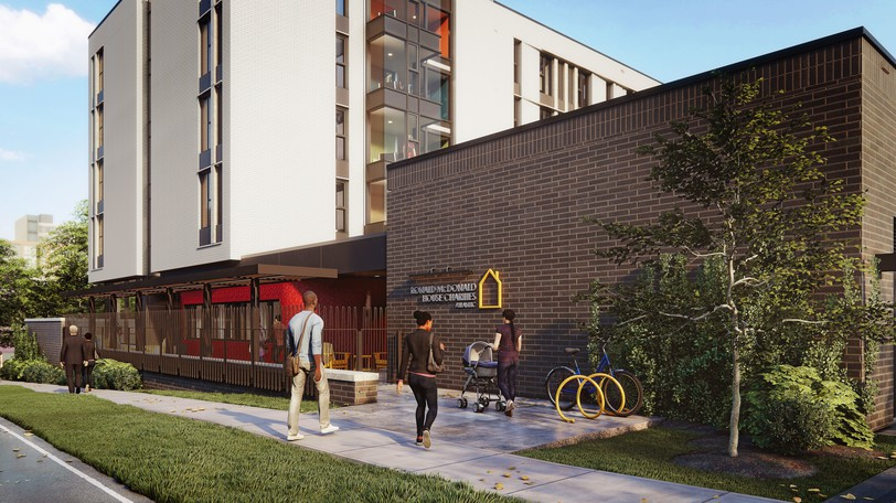 Renderings of the new Ronald McDonald House that is scheduled to begin construction near the IWK Children's Hospital in Halifax next spring. According to the charity about 40-45 per cent of the stays at the current facility come from New Brunswick.