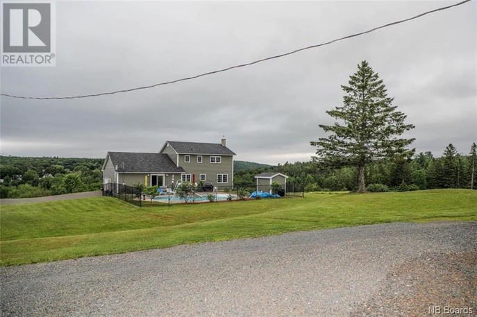 The home at 328 River St. sits on 304 acres of land.