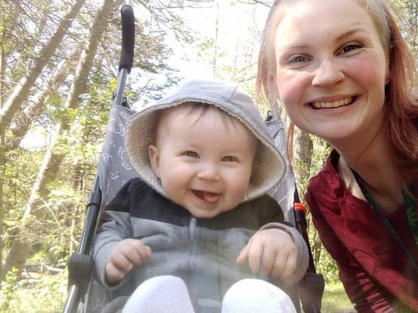 Dominque LeBlanc, right, said her 11-month-old son Matteo is in the IWK Children's Hospital fighting the effects of meningococcemia, a serious bacterial infection. Matteo may need to stay in Halifax for another year to recover and receive rehabilitation.