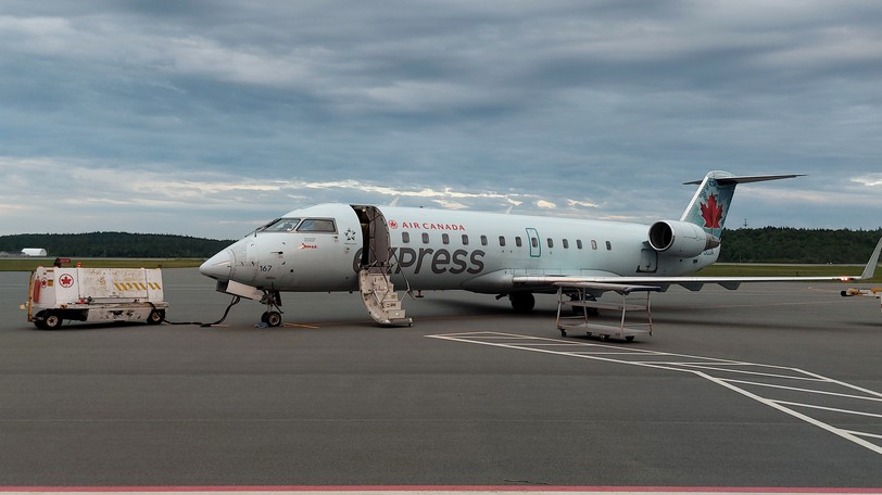 An Air Canada plane is pictured in this file photo.