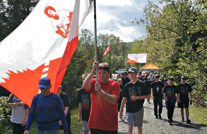 This year's Terry Fox Walk will take place at Sugarloaf Park on Sept. 19 at 1 p.m.