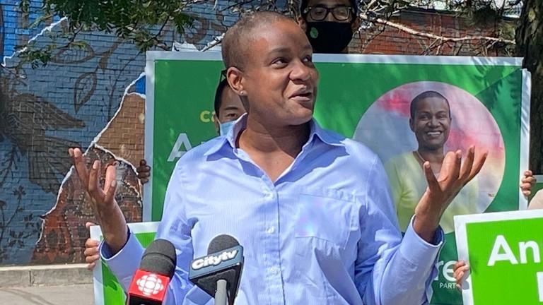 The Greens' cratering poll numbers should preclude them from the leaders' debate, writes columnist Jason VandenBeukel.