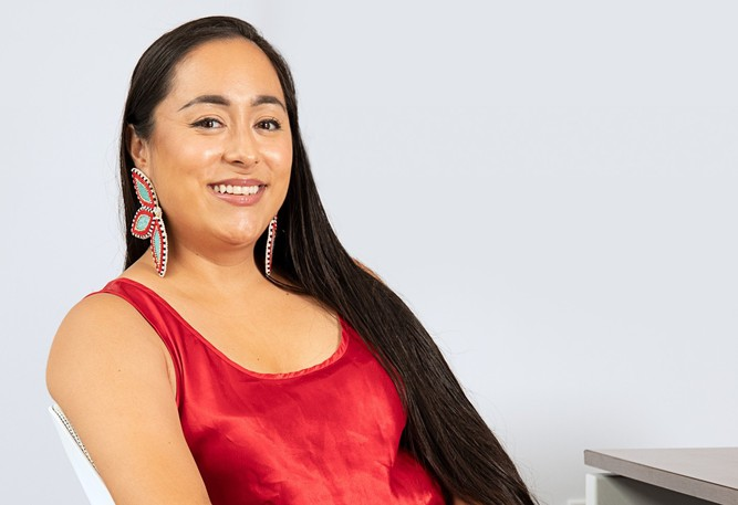 Killa Atencio of Listuguj is a semifinalist in an international competition that could net her $25,000.