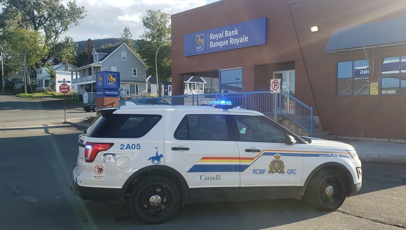 The RCMP was dispatched to a robbery at the RBC in Campbellton late Tuesday afternoon and took less than 45 minutes to locate and arrest the suspects.