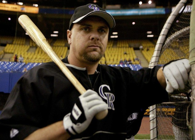 Larry Walker did the most damage while in a Colorado Rockies uniform.