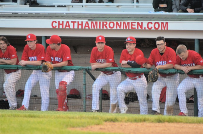 The Chatham Miramichi Honda Ironmen were ousted from the New Brunswick Senior Baseball League playoffs with losses to the Moncton Fisher Cats in their last two post-season outings.