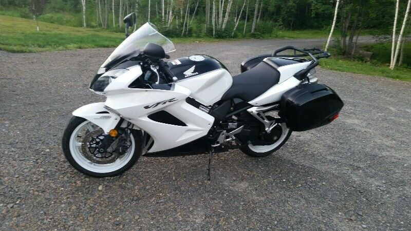 Pictured is a 2009Honda VFR800Interceptor motorcycle, which the RCMP says was one of two motorcycles stolen in Hanwell on July 19.