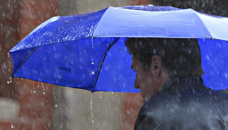 Northern and western regions of New Brunswick are under a rainfall warning Thursday, and it's expected the precipitation will continue until Friday afternoon