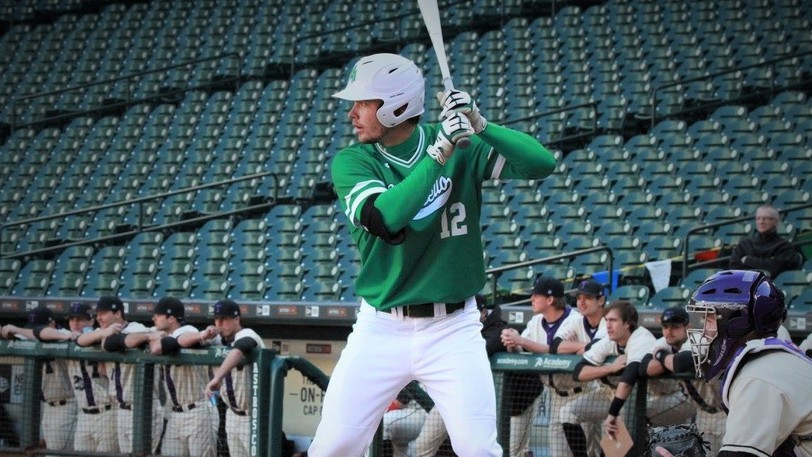 Fredericton's Corey Wood, shown in a 2016 baseball game at Minute Maid Park in Houston, will be inducted into the University of Arkansas at Monticello Sports Hall of Fame next month.
