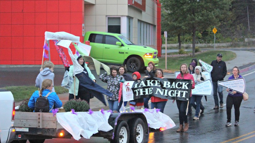 The Take Back the Night March in Woodstock has been spreading awareness about intimate partner violence for the past 10 years. The annual march will take place on Sept. 17.