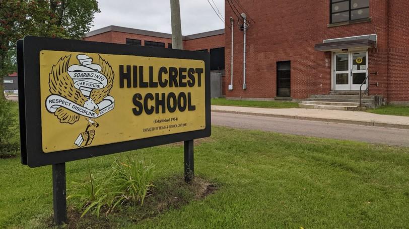 Hillcrest School in Moncton.